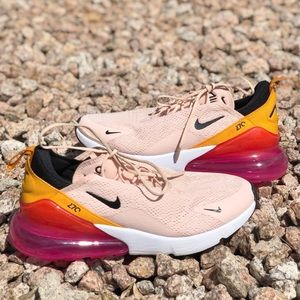 Nike Air Max 270 Washed Coral Sneakers